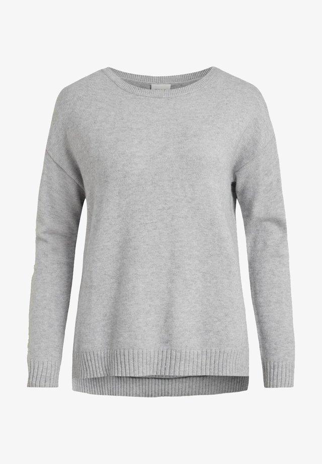 VIRIL  - Maglione - light grey melange