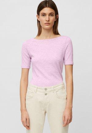 SHORT SLEEVE BOAT NECK - T-shirt basic - breezy lilac