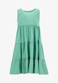 DeFacto - Jersey dress - turquoise - 0