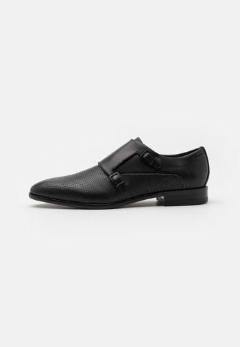 APPEAL MONK - Nazouvací boty - black