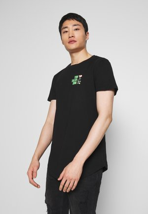 WITH CHESTPRINT - T-shirt con stampa - black