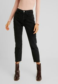 River Island - Jeans Straight Leg - black - 0