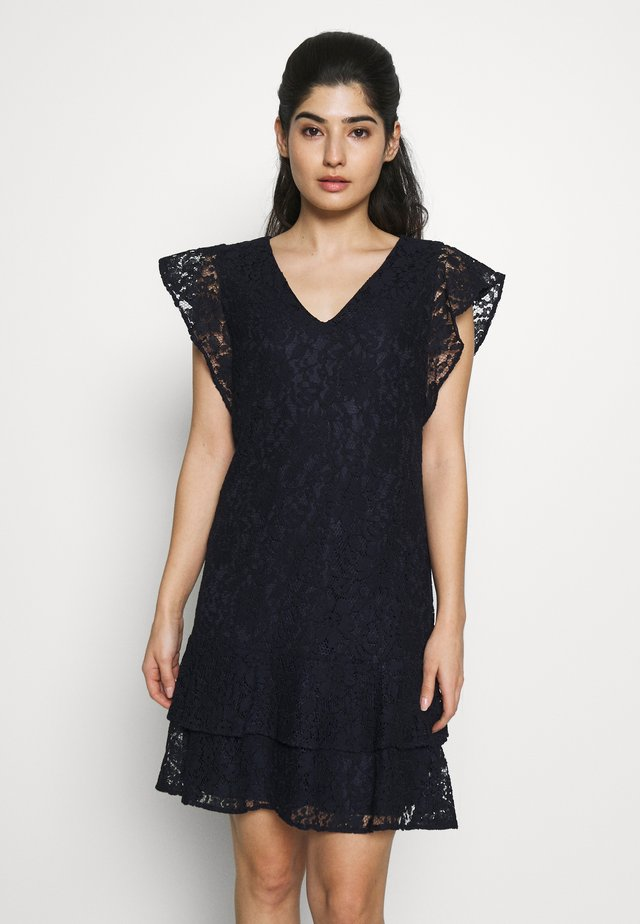 CHALINA CAP SLEEVE DAY DRESS - Vestido informal - lighthouse navy
