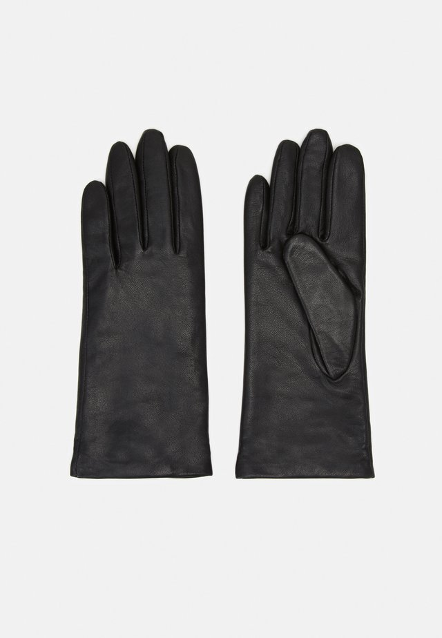 Gloves - midnight black