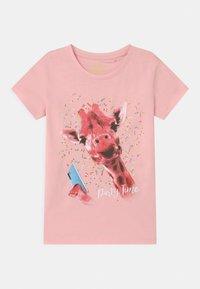 Lemon Beret - TEEN GIRLS  - Print T-shirt - almond blossom - 0