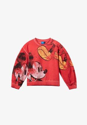 MICKEY - Sweatshirt - red