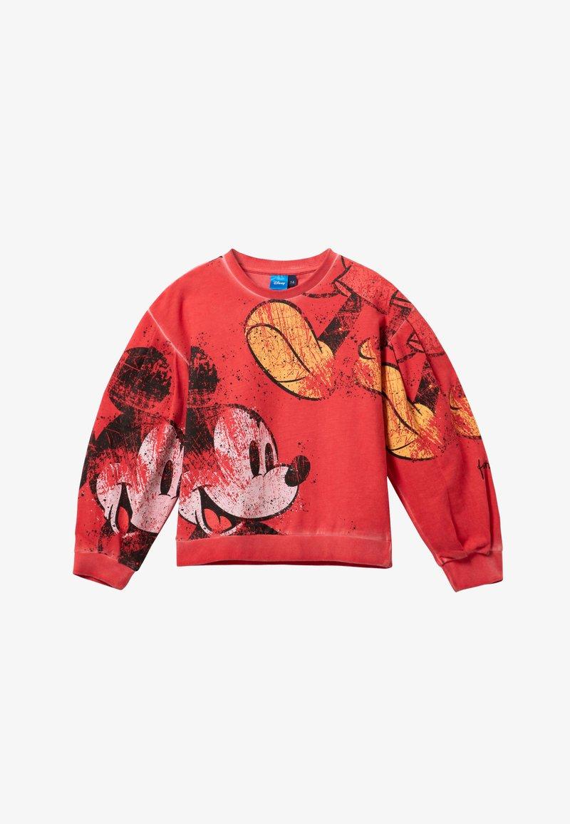 Desigual - MICKEY - Sweatshirt - red