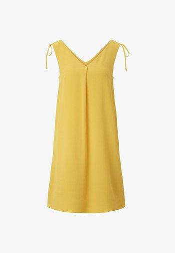 ÄRMELLOSES  - Robe d'été - deep golden yellow