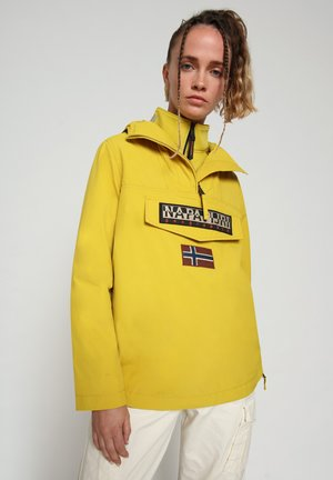 RAINFOREST SUMMER - Winter jacket - yellow moss
