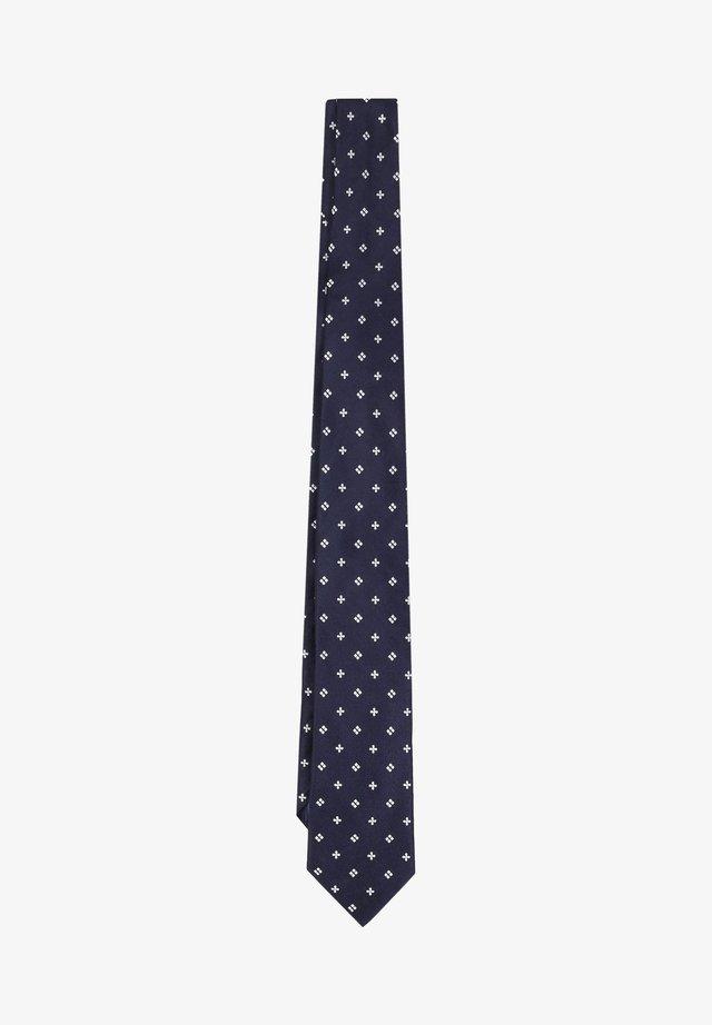 GEOMETRICAL - Cravate - navy