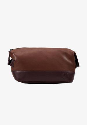 VEGAN WASHBAG - Kosmetická taška - brown