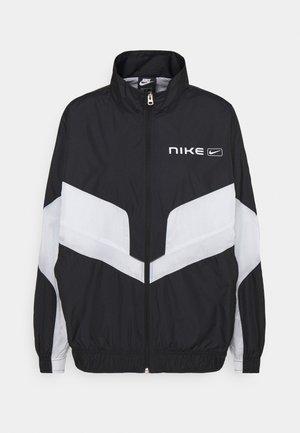 STREET - Veste de survêtement - black/pure platinum/white