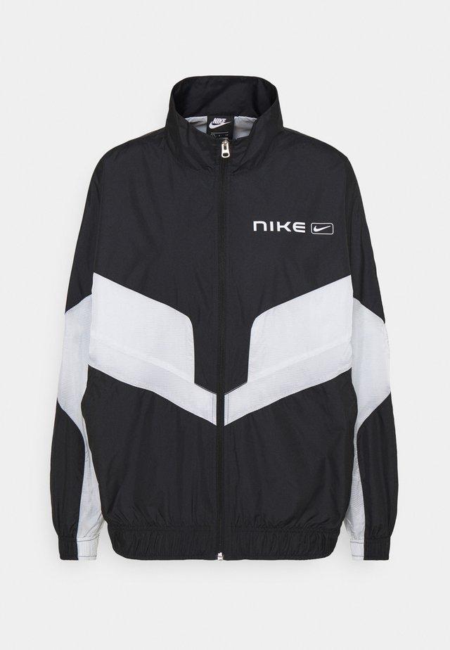 STREET - Training jacket - black/pure platinum/white
