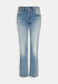 501® LEVI'S® ORIGINAL FIT - Straight leg jeans - med indigo worn in