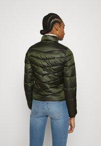 Calvin Klein Jeans - SHINY JACKET - Kurtka zimowa - deep depths - 2