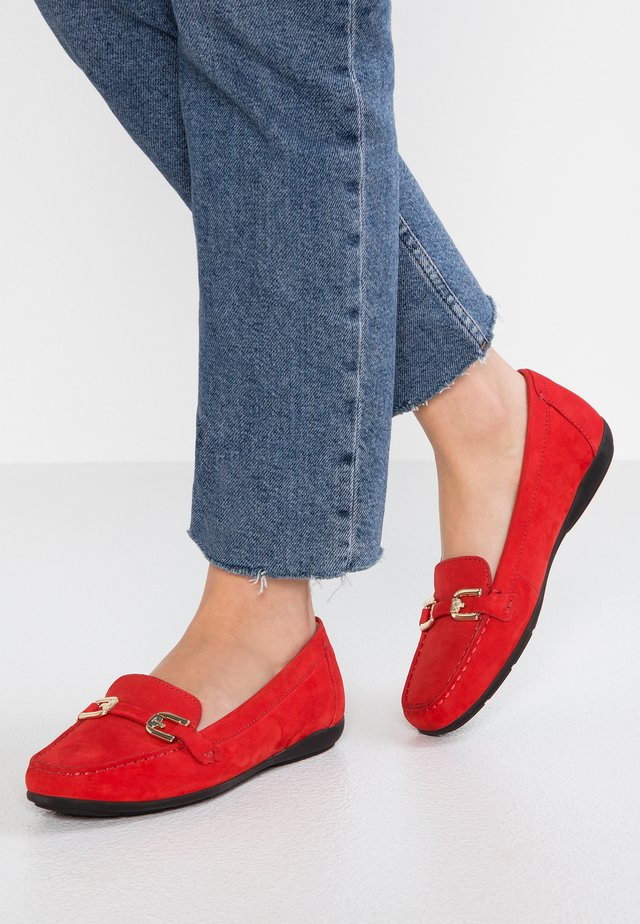ANNYTAH - Mokkasiinit - scarlet