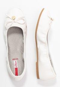 s.Oliver - Ballet pumps - white - 3