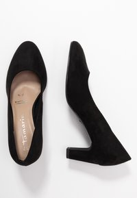 Tamaris - WOMS COURT SHOE - Klassiske pumps - black - 3