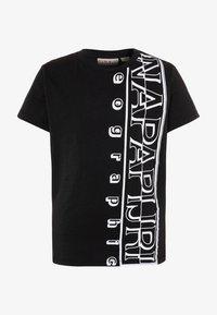 Napapijri - SERI - Print T-shirt - black - 0