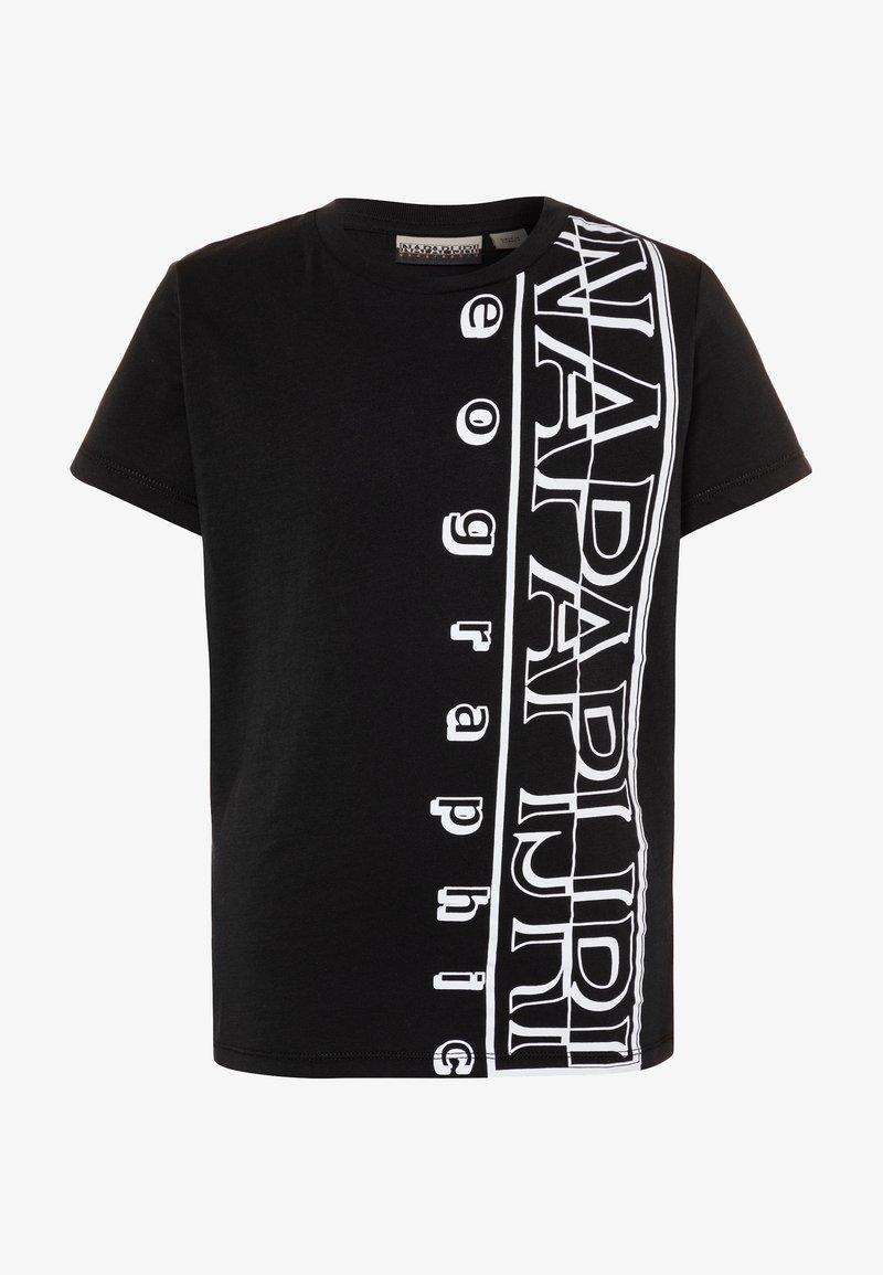 Napapijri - SERI - Print T-shirt - black