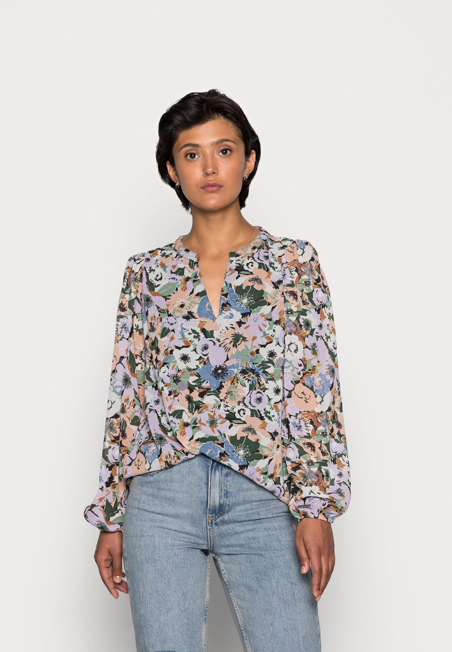 Women ONLSTAR V-NECK - Long sleeved top