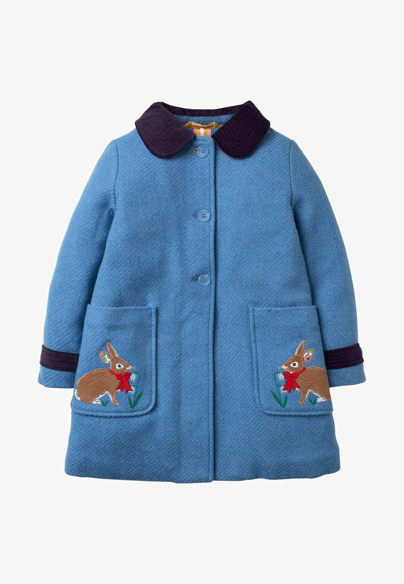 Boden - MIT STICKEREI - Winter coat - elisabethanisches blau, hasen