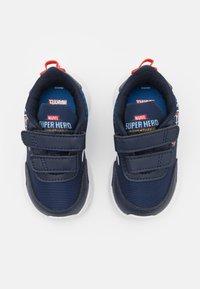 adidas Performance - TENSAUR RUN UNISEX - Neutral running shoes - legend ink/footwear white/blue - 3