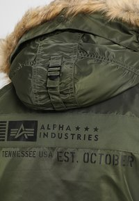 Alpha Industries - AIRBORNE - Winter coat - dark green - 9