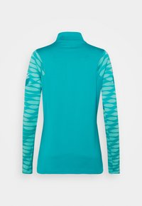 Nike Performance - DRY STRIK - Sports shirt - aquamarine/tropical twist/white - 1