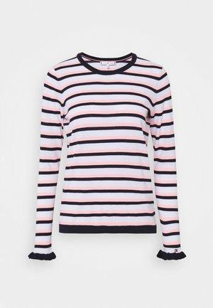 KERREE FRILL  - Jumper - dark blue/pink