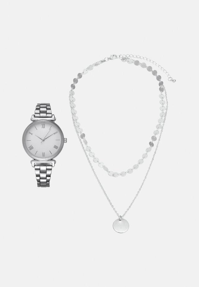 SET - Zegarek - silver-coloured
