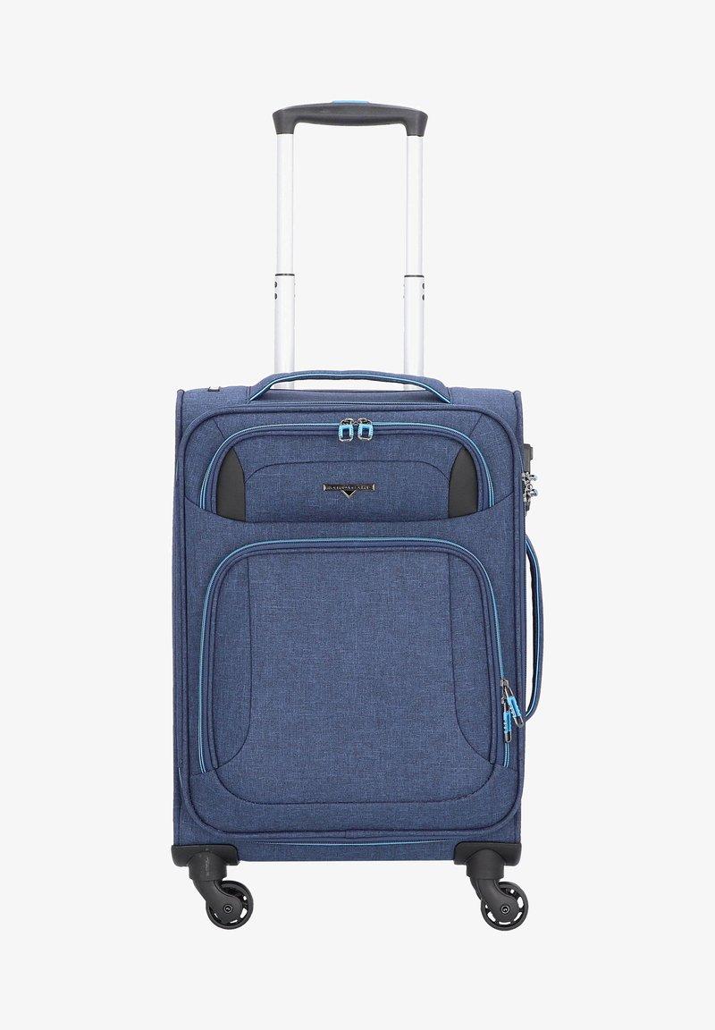Hardware - AIRSTREAM  - Wheeled suitcase - blue/light blue