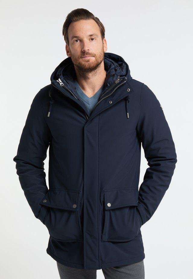 Wintermantel - marine