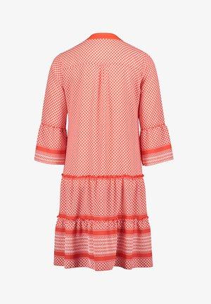 Robe d'été - white/orange