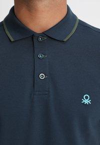 Benetton - Polo shirt - blue - 4
