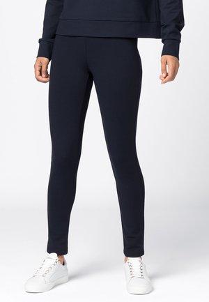 MIT GUMMIBUND - Leggings - Hosen - dunkelblau