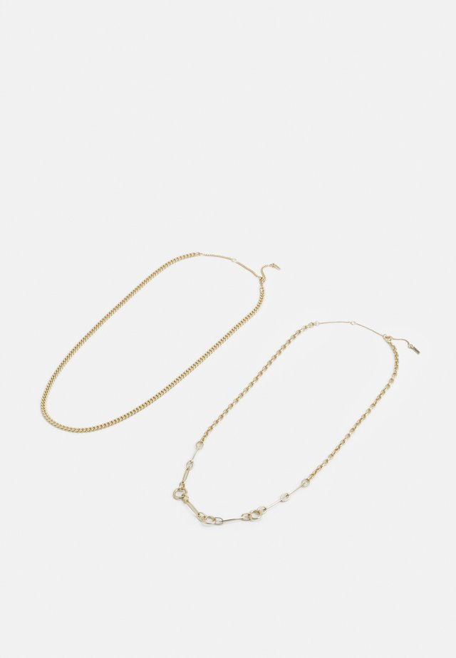 NECKLACE SENSITIVITY 2 PACK - Collana - gold-coloured