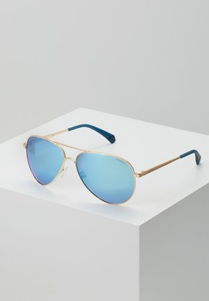 NEW - Sunglasses - gold-coloured