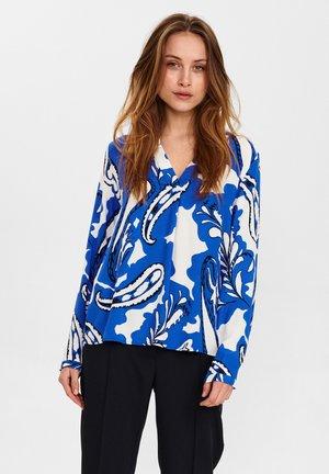 Blusa - dazzling blue