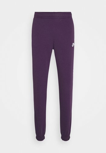 CLUB PANT - Verryttelyhousut - grand purple/grand purple/white
