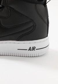 Nike Sportswear - AIR FORCE 1 BG - Sneakers high - black/white - 2