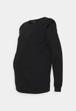SHOULDERPAD - Sweater - black