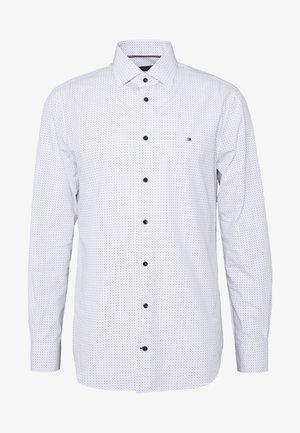 POPLIN DOT  CLASSIC SHIRT - Camicia elegante - white