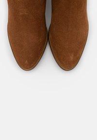 Anna Field - LEATHER  - Vysoká obuv - brown - 5