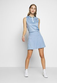 Cross Sportswear - SALLY SOLID - Polotričko - forever blue - 1
