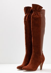 mint&berry - Over-the-knee boots - cognac - 4