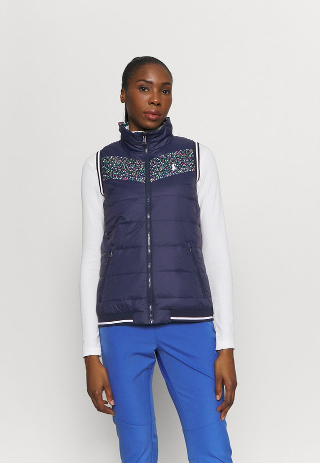 VEST  - Bodywarmer - frnch navy/preppy petals multi