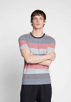 JCOARAF TEE CREW NECK - T-shirt z nadrukiem - chinese red