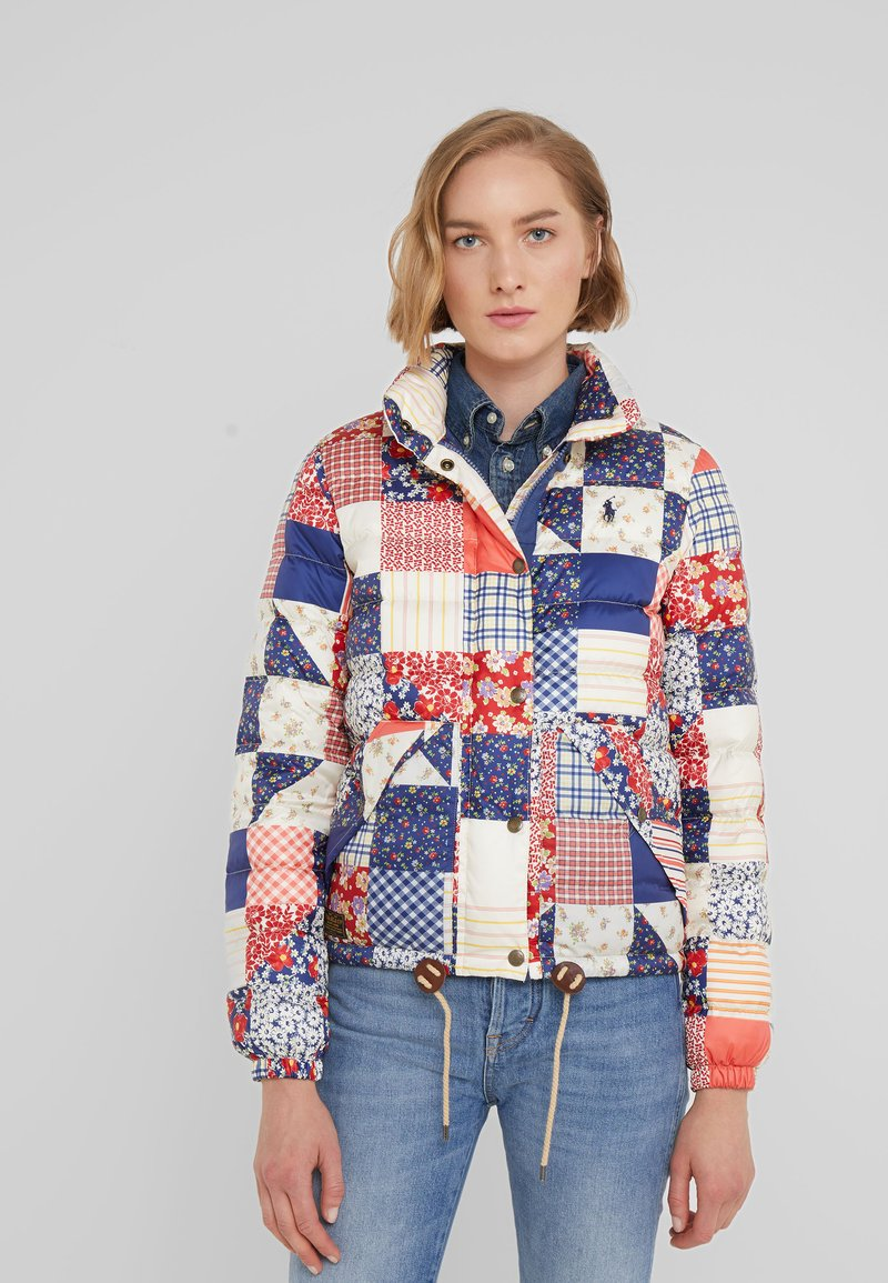 Polo Ralph Lauren - PATCHWORK - Down jacket - multi
