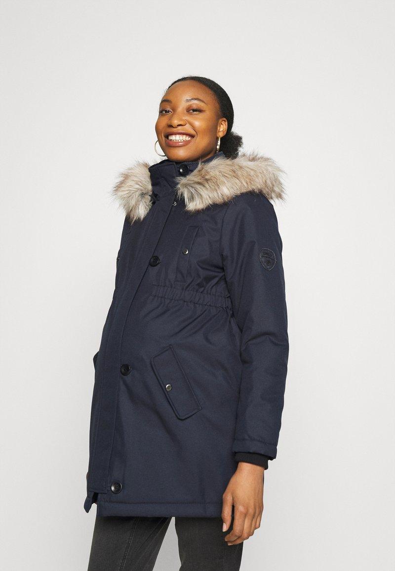 ONLY - OLMIRIS WINTER  - Winter coat - dark blue